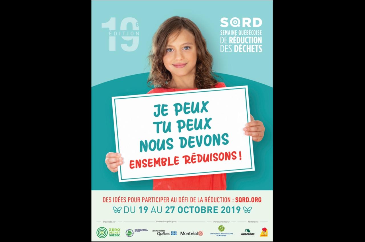 SQRD- semaine québécoise de réduction des déchets